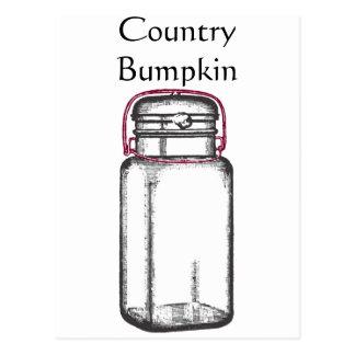 Country Bumpkin Postcard