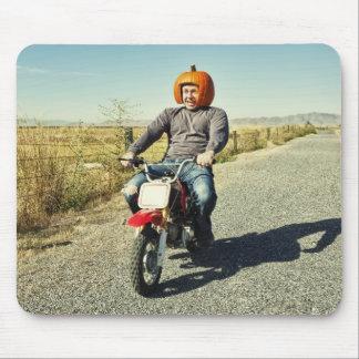 Country Bumpkin Pumpkin Racer Mouse Pad