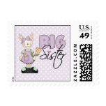Country Bunny Big Sister (violet) Stamps