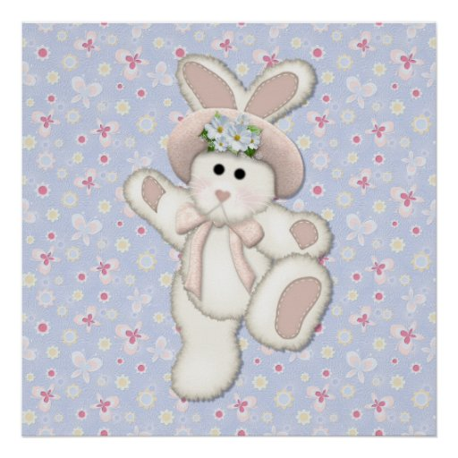 Country Bunny Print
