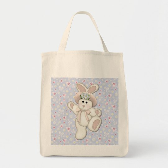 Country Bunny Tote Bag
