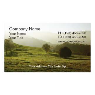 Country Business Card
