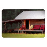 Country Cabin Adirondack Chairs Magnets
