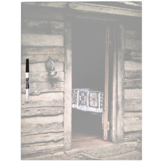 Country Cabin Quilt Dry Erase Board