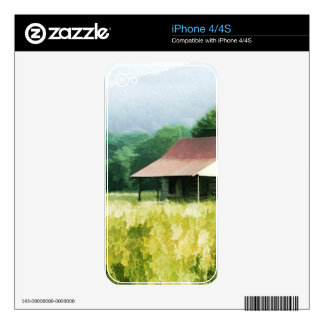 Country Cabin Skin For The iPhone 4