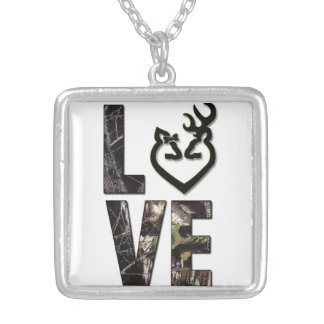 Country Camo Love Women's Necklace