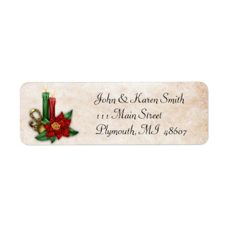 Country Candle Address Label