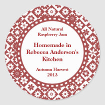 Country Canning Labels for Homemade Jams, Jellies