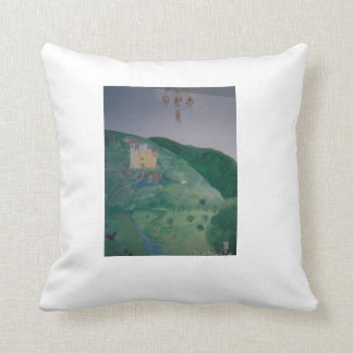 country castle pillow