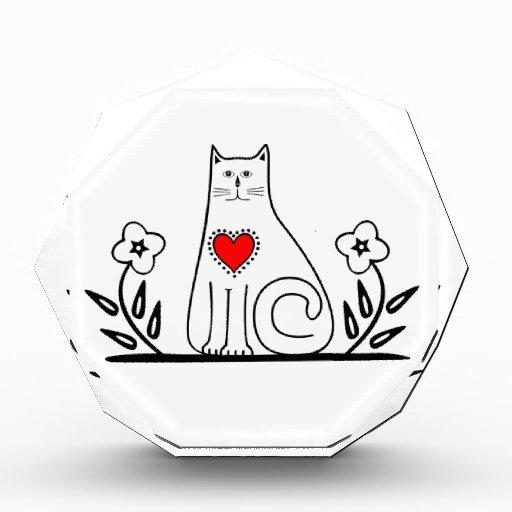 Country Cat Acrylic Award