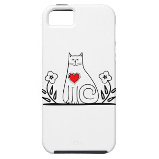 Country Cat iPhone 5 Case