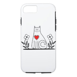 Country Cat iPhone 7 Case