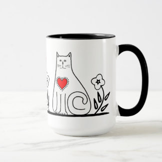 Country Cat Mug