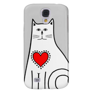Country Cat Samsung Galaxy S4 Covers