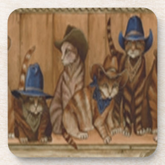 Country Cats Coasters