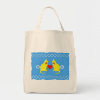 Country Cats Grocery Tote Tote Bag