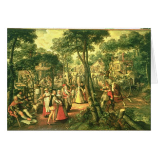 Country Celebration, 1563 Card