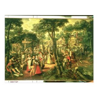 Country Celebration, 1563 Postcard