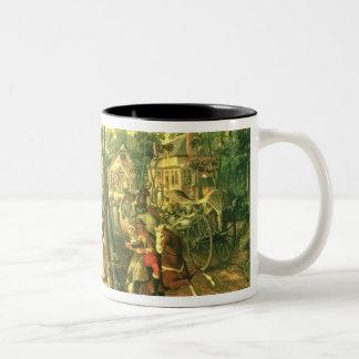 Country Celebration, 1563 Two-Tone Coffee Mug