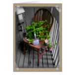 Country Chair Note Card