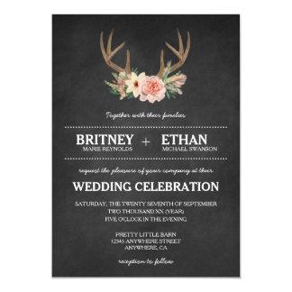 Deer Wedding Invitations Announcements Zazzle