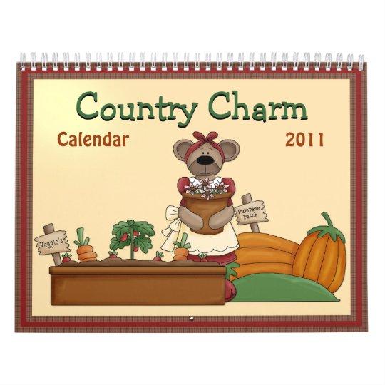 Country Charm 2011 Calendar