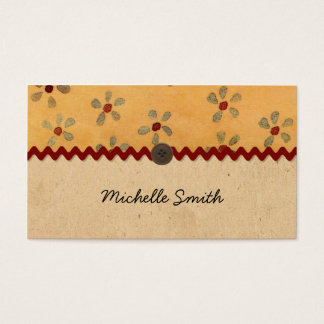 Country Charm Business Card