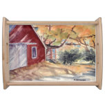 Country Chic Designer Serving Tray - Barnhouse