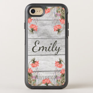 Country Chic Watercolor Floral OtterBox Symmetry iPhone 7 Case