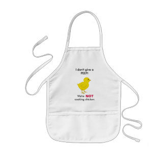 Country Chick - I don't give a PEEP! Kids' Apron