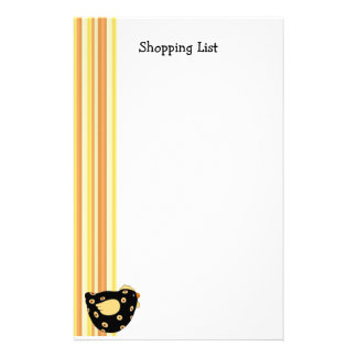 Country Chick Shopping List Stationery
