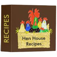 Country Chicken Clan Recipe Binder