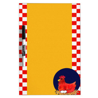 Country Chicken Dry-Erase Board