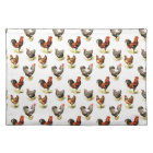 Country Chicken Pattern Cloth Placemat