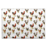 Country Chicken Pattern Placemats