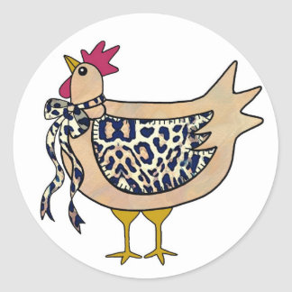 Country Chicken Sticker