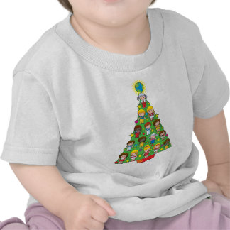 Country Children Christmas Tree Tees