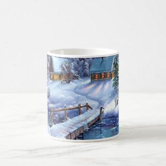 Country Chistmas mug