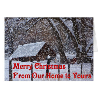 Country Christmas - Greeting Card