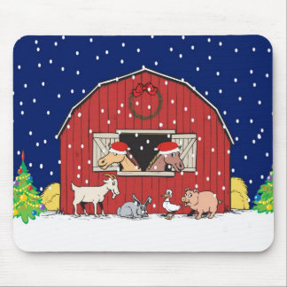 Country Christmas Mousepads