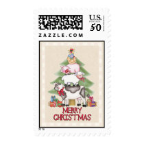 Country Christmas Postage
