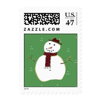 Country  Christmas Stamp