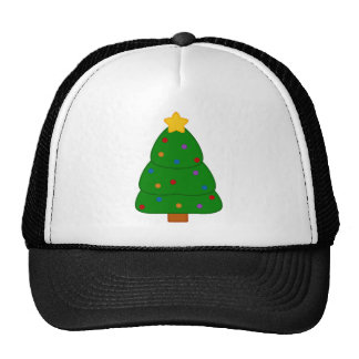 Country Christmas Tree Trucker Hat