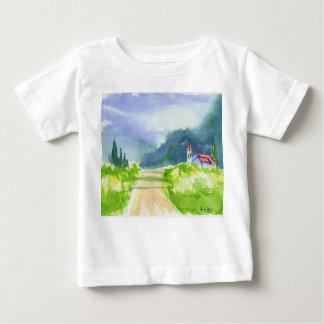 Country Church Baby T-Shirt