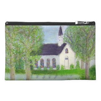 Country Church Travel Accessory Bags