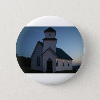 Country Church Button