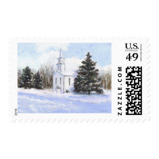 Country Church Postage
