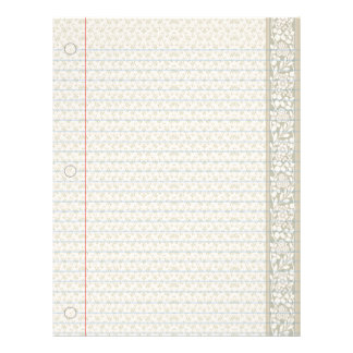 Country Classic Notebook Paper