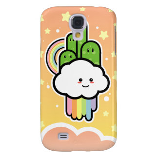 Country Cloud Kawaii iPhone 3G Case Galaxy S4 Cover