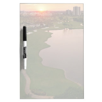 Country Club at sunset, Aventura, Florida Dry-Erase Board